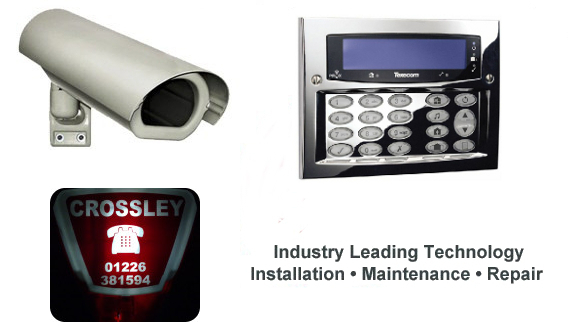 Alarm box,. Another image from Crossley Security, market leaders in security, providing Burglar alarms, CCTV and access control in South Yorkshire and Derbyshire.